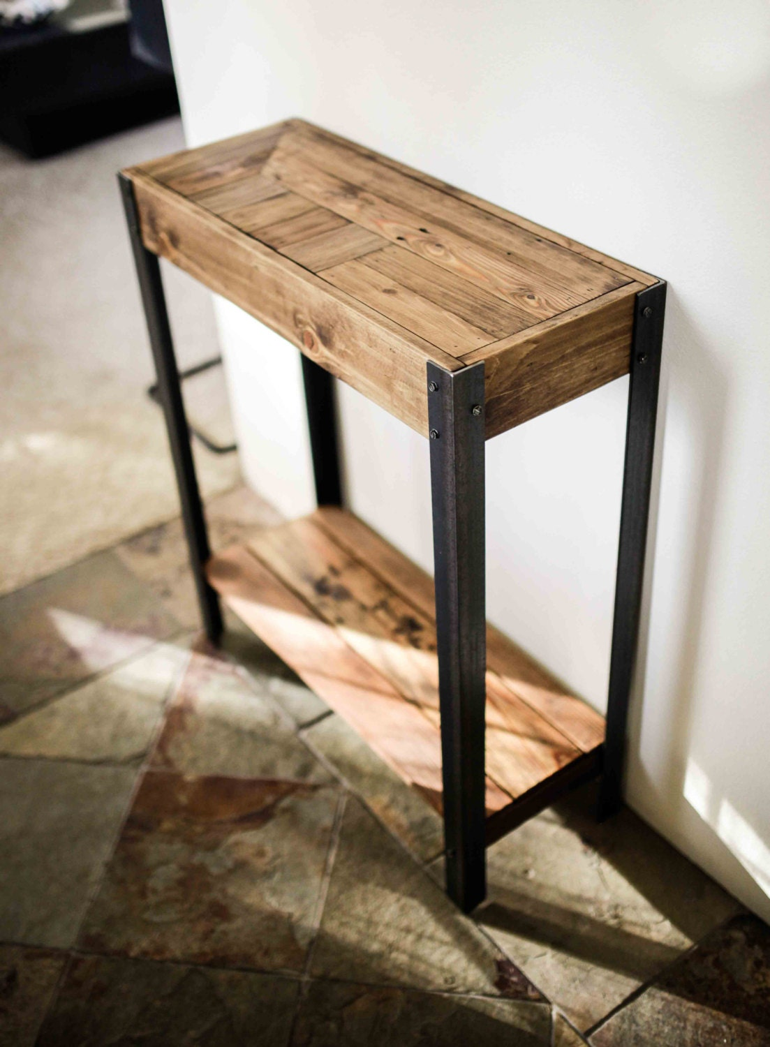 Pallet Wood Entry Hall Table