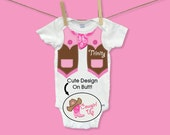 Cowgirl Baby Girl Clothes Baby Gift Funny Baby Outfit Custom Unique