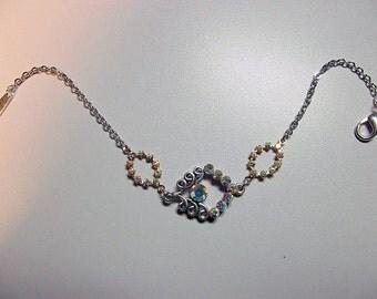 Swarovski Clear Crystal Rhinestone Bracelet, Christmas Gift, Mom Sister Bridesmaid Gift, ONLY ONE, Jewelry, Sparkle, Girlfriend Gift