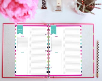 Hourly Schedule, Printable Hourly Planner, Hourly Planner Printable, Daily Schedule Planner, Daily Planner Inserts, Half Size Planner