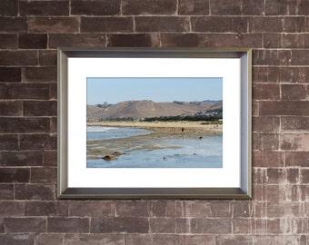 BEACH Photograph - MORRO BAY California - Coastal Ocean Landscape Picture