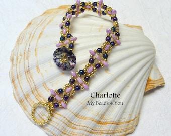 Beaded Bracelet, Seed Bead Bracelet, Beaded Cuff, Beadwork, Beaded Jewelry, Beading Instructions, Embellished Bracelet, Superduo Beaded