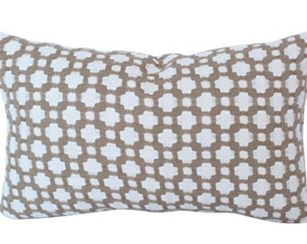 Schumacher Betwixt Biscut Lumbar Pillow Cover
