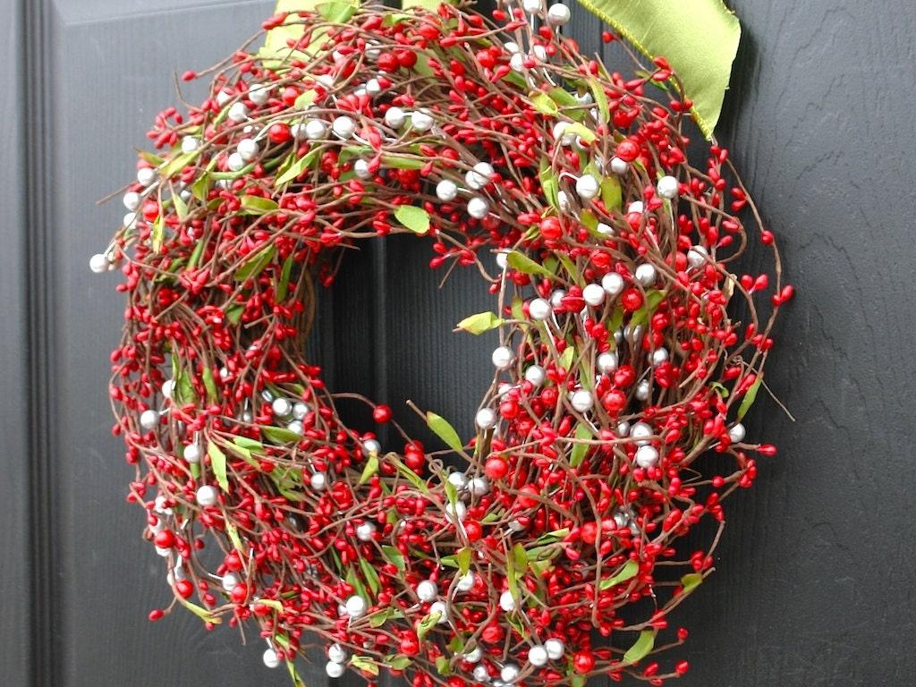 weihnachten kranz weihnachten kr nze ganzj hrig von aniamelisa. Black Bedroom Furniture Sets. Home Design Ideas