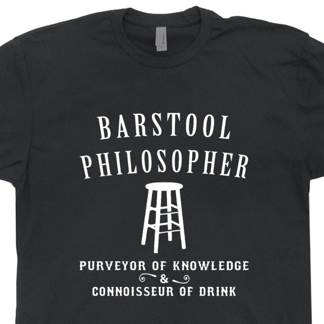 Barstool Philosopher T Shirt funny vintage Philosophy t shirts