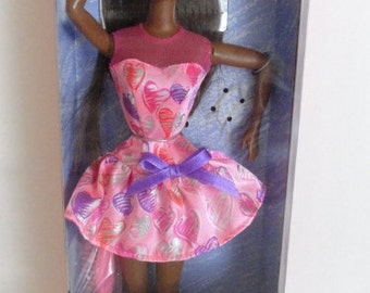 Vintage 90s Black Barbie Valentine| Valentine Barbie|Black Valentine Barbie|African American Valentine Barbie Special Edition Doll