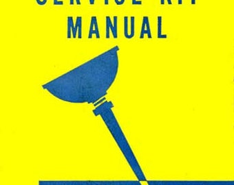 SERVICE KIT MANUAL American Flyer Trains Reprint