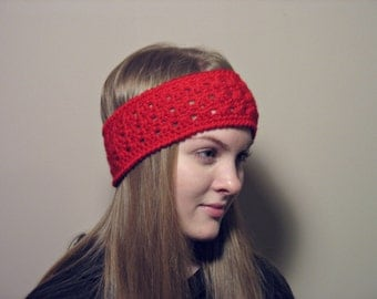 Womans Headband, Crochet Headband, Teen Girl Headband, Ladies Headband, Winter Headband, Ear Warmer, Fall Headband, Gift for her