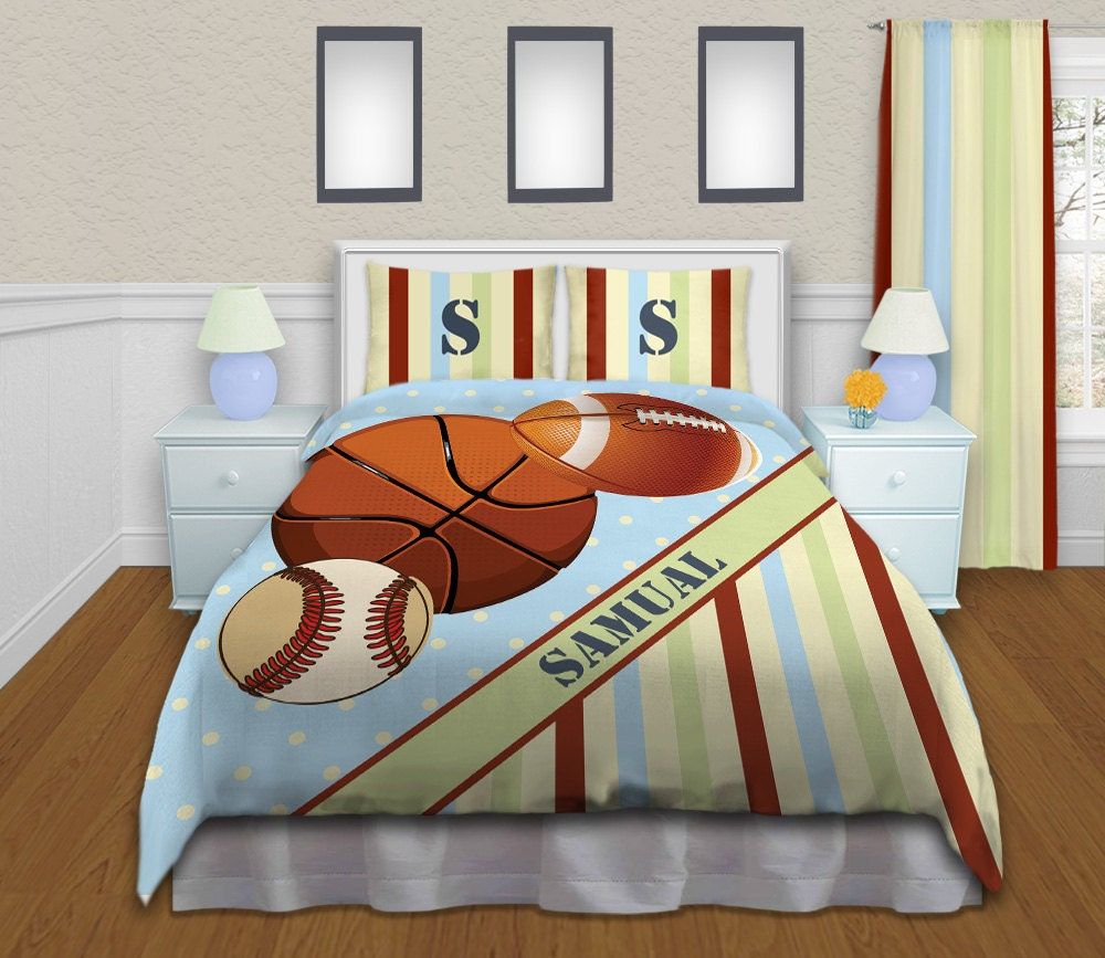 Baseball Bedding For Boys Sports Comforter Sets Twin Queen - Boys sports bedding sets twin