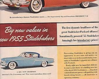1954 Studebaker Packard Print Ad