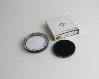 HOYA Infrared filter, 55mm R72. Vintage traditional film photography special effects filter