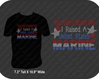 Marine mom bling shirt rhinestone proud marine mom bling shirt Marine bling shirt  proud marine mom bling shirt raised a marine bling shirt