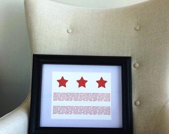 "8.5"" x 11"" DC Flag Neighborhood Print"