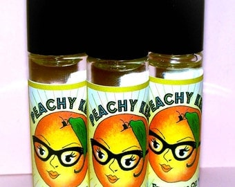 Peach Perfume Oil Peachy Keen Fragrance Oil Roller Vegan Perfume