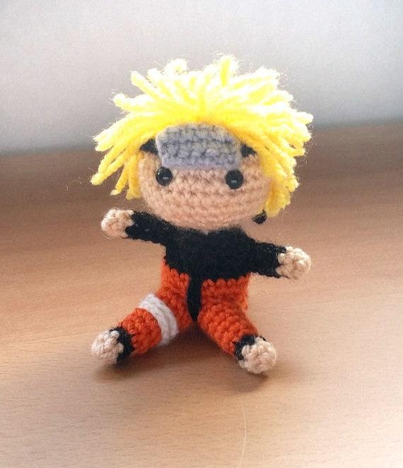 Amigurumi Naruto Pattern : Naruto Uzumaki Amigurumi doll
