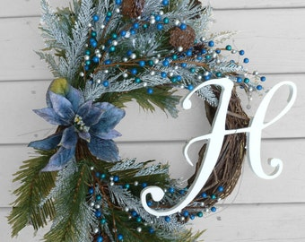 Popular items for door home decor on etsy for Elegant christmas decorations for sale