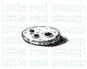 Cookie Biscuit Digital Stamp Instant Download PDF JPG Printable Illustration Art Drawing Scrapbooking Food