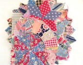 Vintage Handmade Quilted Pieces Scrap Pack