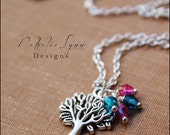 Family Tree Necklace, Family Necklace