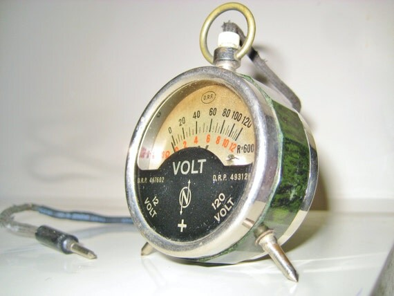 Antique Volt Meter : Vintage drp pocket voltmeter radiometer bakelite gauge