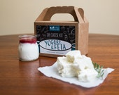 Feta, Greek Yogurt & Yogurt Cream Cheese DIY Kit- 8 and 24 batches (cow milk and goat milk)