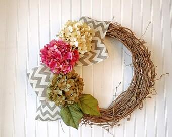 Elegant door wreaths. spring wreath, wreath for door, spring decor, spring door wreath, front door wreath.