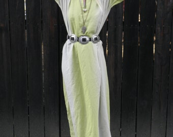 MOVING SALE Maxi Dress // Boho Clothes // Gypsy Clothing // Ren Faire // Long Sleeve // Reversible // 90s Grunge // Burning Man // XS Small