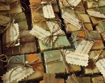 Goat Milk Soap Sample Packs!