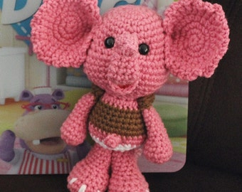 Baby Sandy The Pink Elephant