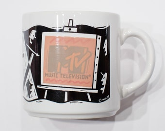 MTV Music Television Coffee Mug - © MB 89 - Pop Culture Cup