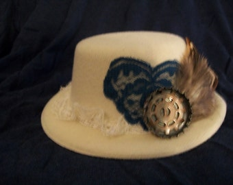 Mini Steampunk Maiden Hat