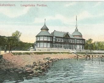 Langelinies Pavillon, 1910 Unused Postcard - Copenhagen - Kobenhavn. Denmark