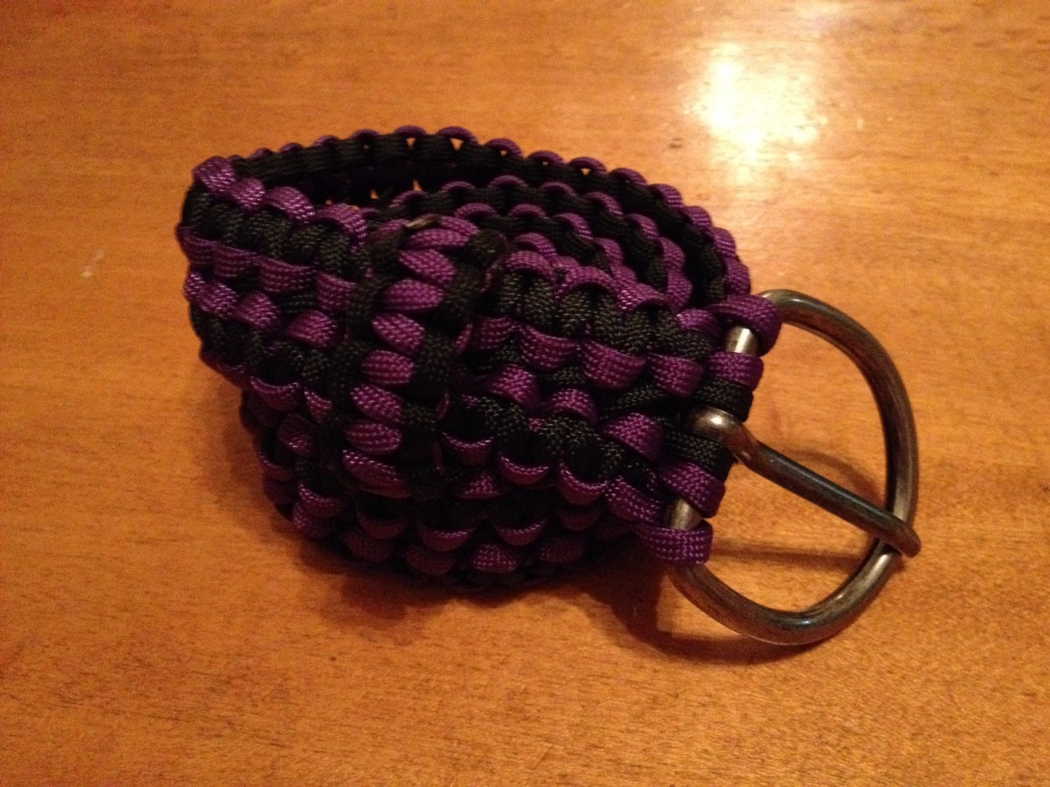small small paracord belt by tjparacording on etsy