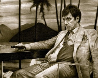 Scarface - Al Pacino -A3 Size Poster Print 2