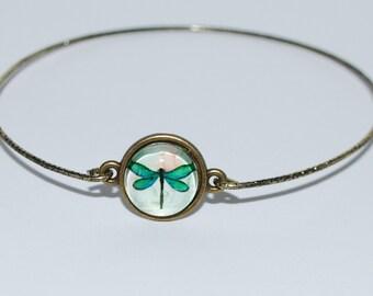 Green Dragonfly bracelet