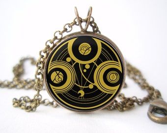 Doctor Who Seal of Rassilon Pendant with Сhain