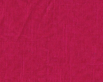 Covington Jefferson Linen Fuchsia Fabric