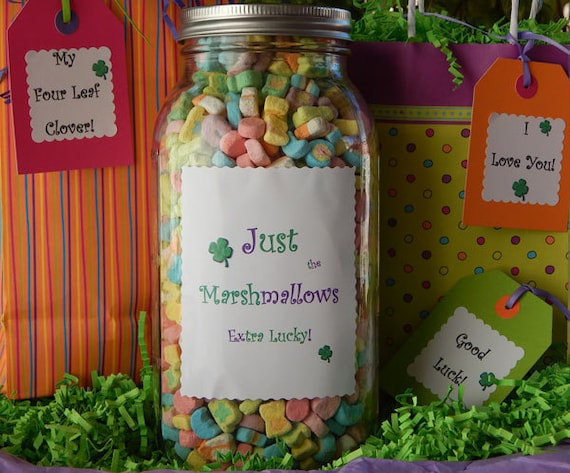 just the marshmallow lucky charms lucky by