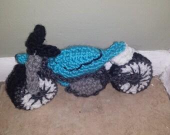 Crochet Motorcycle