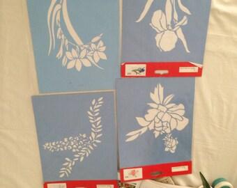Floral Stencil Templates