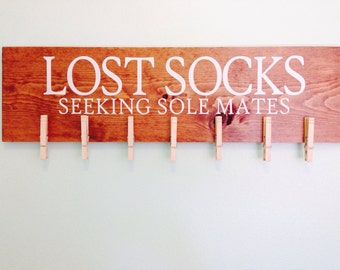 Lost Socks: Seeking Sole Mates