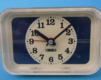 SALE Vintage electric alarm clock by ESGE / electric vintage alarm clock by ESGE | Switzerland