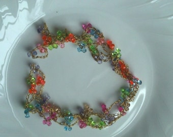 Beaded Extra-long Necklace or Bracelet