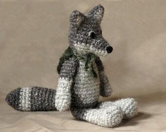 Amigurumi crochet wolf pattern