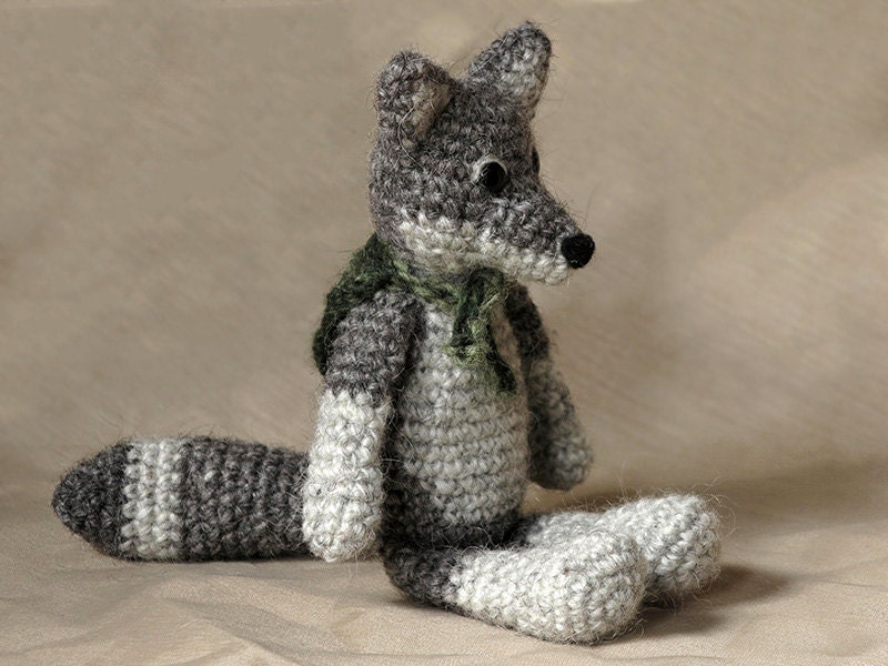 Amigurumi Patterns Wolf : Amigurumi crochet wolf pattern