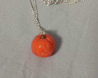 Jack-O-Lantern Necklace