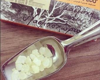 Authentic Greek Chios Gum Mastic, (Pistacia lentiscus) natural 100% organic gum drops 50gr.