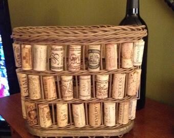 Three Tier Wine Cork Basket