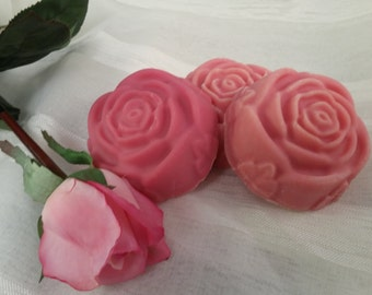 Rose and Goat Milk Cold Process Soap. Rose Soap, Goat Milk Soap.