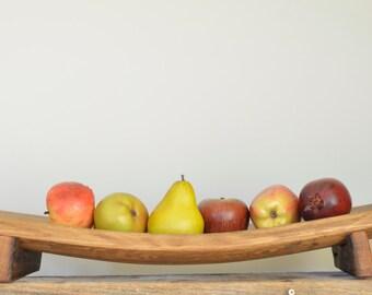 The Tray - Repurposed oak wine barrel serving tray